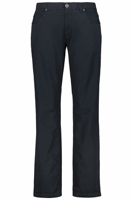 JP 1880 Men's Big & Tall 5-Pocket Colored Stretch Jeans Dark Navy 64 717157 76-64