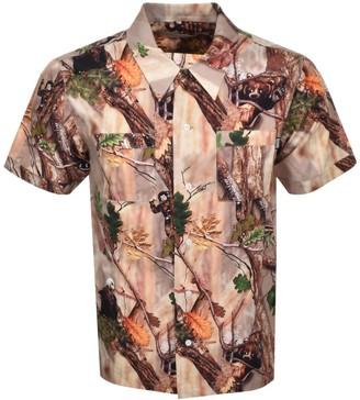 Billionaire Boys Club Short Sleeved Shirt Brown