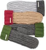 MICHAEL Michael Kors Rib Cable Colorblock Mittens