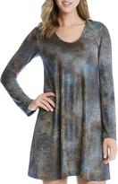 Karen Kane Taylor Textured Print Dress