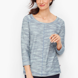 Talbots Textured Tie Back Pullover
