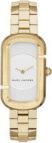 Marc Jacobs Women's The Jacobs Gold-Tone Stainless Steel Bracelet Watch 39mm MJ3501