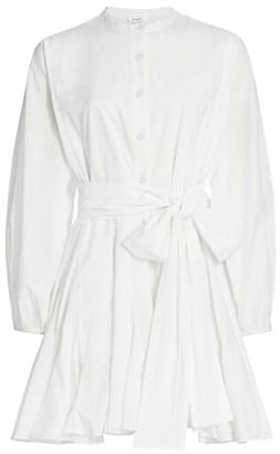 Rhode Resort Emma Tie-Waist Flared Dress