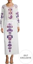 Antik Batik Women's Danah Cotton Textured Maxi Dress
