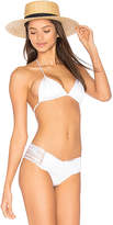 Indah Andrea Triangle Top in White