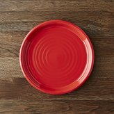 Crate & Barrel Farmhouse Red Salad Plate