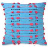 Blissliving Home Vivido Throw Pillow in Blue