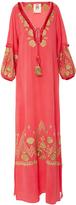 Figue Lola Embroidered Ibiza Maxi Dress