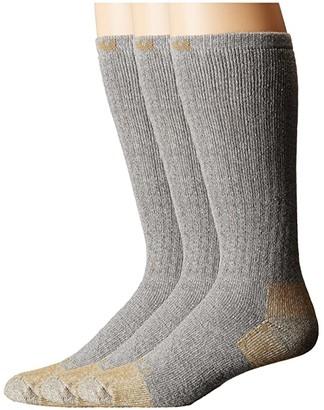 Carhartt Full Cushion Steel Toe Cotton Work Boot Socks 2-Pack (Gray) Men's Crew Cut Socks Shoes