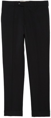 Helmut Lang Cropped Wool Skinny Trousers