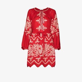 Vita Kin X Browns 50 embroidered linen dress