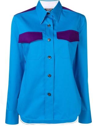 Calvin Klein Contrasting Pocket Shirt
