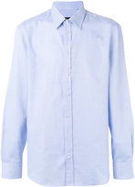 Emporio Armani long-sleeve shirt - men - Cotton - 39