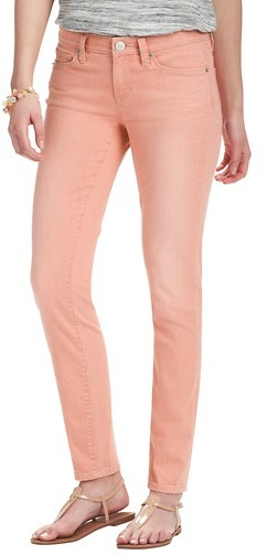 """LOFT Modern Skinny Ankle Jeans in Strawberry with 27 1/2"""" Inseam"""
