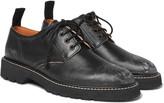 Maison Margiela - Distressed Leather Derby Shoes
