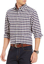 Daniel Cremieux Long-Sleeve Checked Oxford Woven Shirt