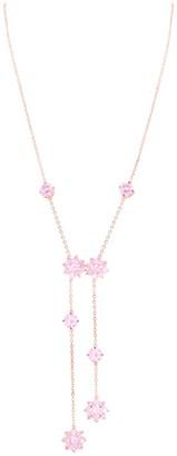 Nina Jewelry Flower Drop Necklace