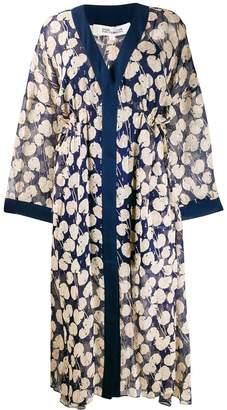Diane von Furstenberg Terry kaftan dress