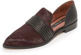 Matt Bernson Stud d'Orsay Loafers