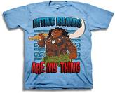 Freeze Blue Moana 'Lifting Islands' Short-Sleeve Tee - Kids
