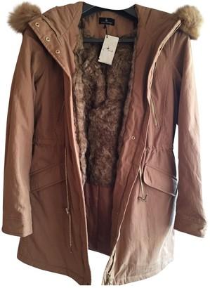 Ikks Beige Coat for Women