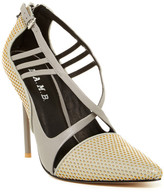 L.A.M.B. Boston Cutout Leather Pump