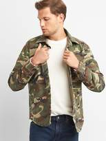 Gap Camo shirt jacket