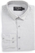 Topman Check Dress Shirt