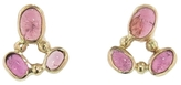Melissa Joy Manning Pink Tourmaline Cluster Post Earrings