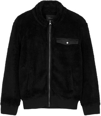 Rails Austin Black Fleece Jacket