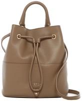 Furla Brooklyn Medium Leather Drawstring Bag