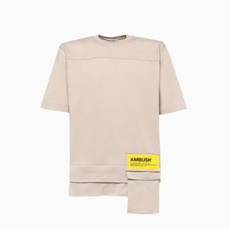 Ambush New Waist Pocket T-shirt Bmaa004f20jer001