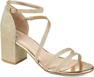 Journee Collection Bella Glitter Sandal