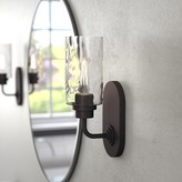 Laurèl Westhope 1-Light Armed Sconce Foundry Modern Farmhouse Finish: Old English Bronze