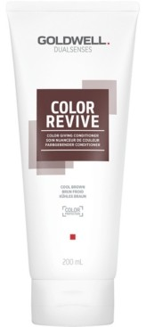 Goldwell Dualsenses Color Revive Conditioner - Cool Brown, 6.7-oz, from Purebeauty Salon & Spa