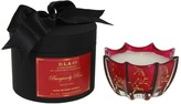 D.L. & Co. Belle Epoque Vine Print Candle - Burgundy Rose - 10oz