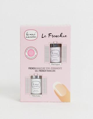 Le Mini Macaron Le Frenchie French Manicure Set Meringue and Milkshake