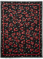 Marc Jacobs Painted Printed Woven Scarf - Black