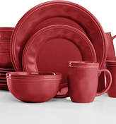 Rachael Ray Cucina Cranberry Red 16-Pc. Set, Service for 4