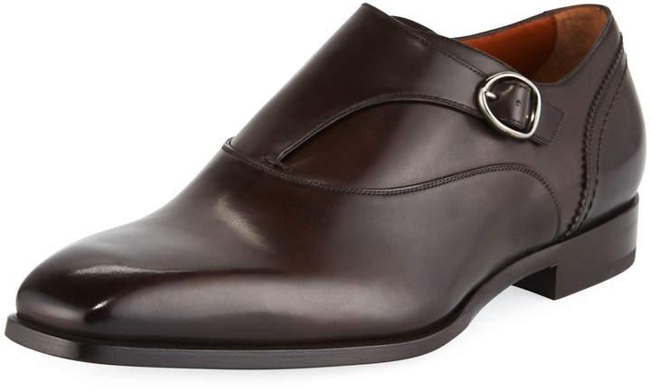 Ermenegildo Zegna Men's Blake Milano Monk-Strap Shoe