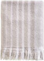Sanderson Etchings & Roses Blanket - Dove Silver