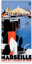 Bed Bath & Beyond Marseille Vintage Travel Printed Canvas Wall Art