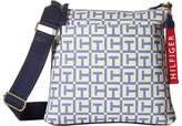 Tommy Hilfiger Classic Tommy Large Crossbody TH Logo Canvas Cross Body Handbags