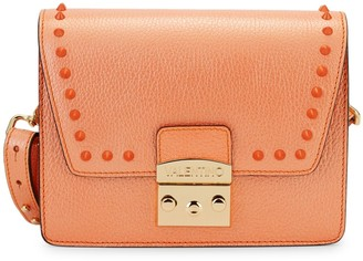 Mario Valentino Frizette Preciosa Studded Leather Shoulder Bag