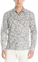 Theory Men's Efron Long Sleeve Button Down Shirt