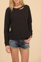 Vintage Havana Zip Back Sweatshirt