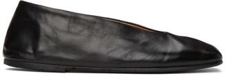 Marsèll Black Spatolona Ballerina Flats