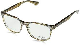 Ray-Ban Unisex-Adult's 5355 Optical Frames, Negro