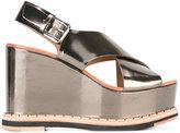 Flamingos Flamingo's - Trendy platform sandals - women - Leather/rubber - 37