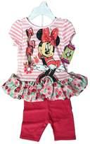 Bassket.com Disney Minnie Mouse Babygirl 2 Pieces Set 12-24 Months